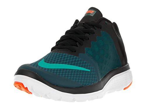 Nike Men Fs Lite Run 3 Scarpe Da Corsa Midnight Turquoise / Clear Jade / Black / White