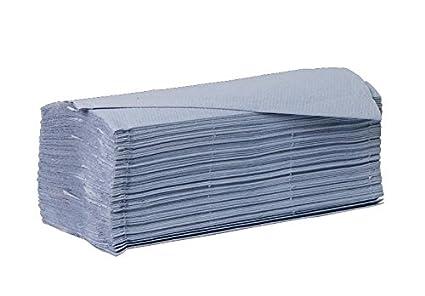 Sistema ahorro de higiene 1ply Azul láminas papel toallas de mano - caso de 5000: Amazon.es: Industria, empresas y ciencia