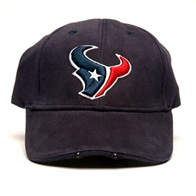 NFL Houston Texans Dual LED Headlight Adjustable Hat by Lightwear
