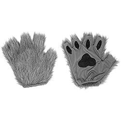Squirrel Products Juego de Accesorios para Disfraz de Gato, Perro, Oso, Lobo, Zorro, Talla única