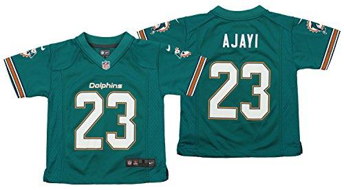 - Nike NFL Kid's Miami Dolphins Jay Ajayi #23 Aqua Game Jersey Large (7)