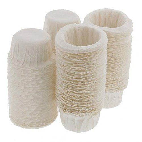 100pcs Home Kitchen Disposable Paper Filters Cups Replacement Coffee Filters zsjhtc