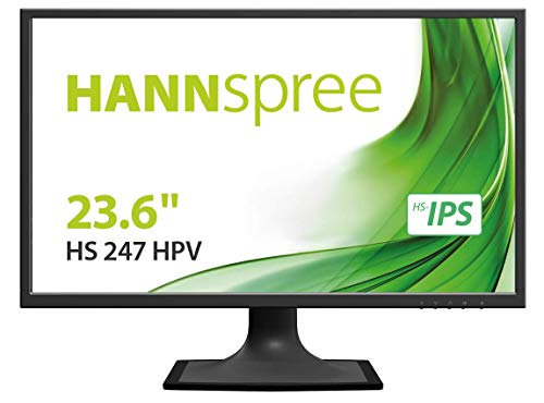 "Hannspree HS 247 HPV 23.6"" Full HD LCD Flat Black Computer Monitor"