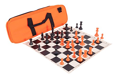 Deluxe Set Tournament Chess - The House of Staunton Halloween Deluxe Triple Weighted Chess Set Combination