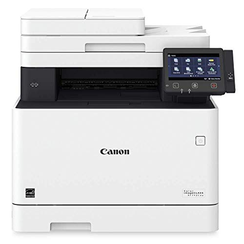 Canon Color imageCLASS MF743Cdw - All in One, Wireless, Mobile Ready, Duplex Laser Printer (Comes with 3 Year Limited (Best Canon Wireless Color Printers)
