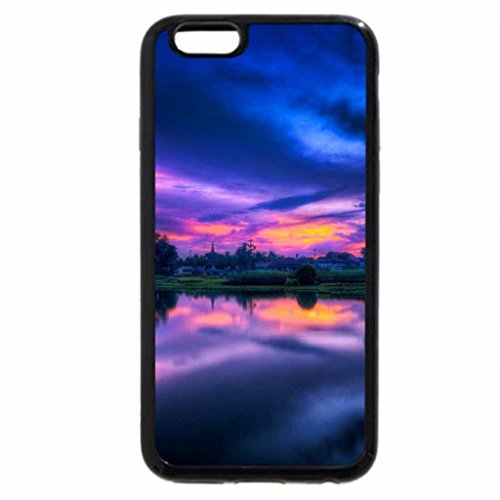 iPhone 6S / iPhone 6 Case (Black) Colors of the sky