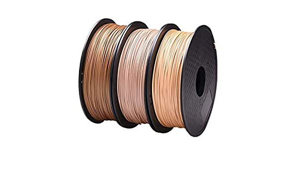 Amazon.com: W-Shufang,3D Wood Filament 1.75mm for 3D Printer ...