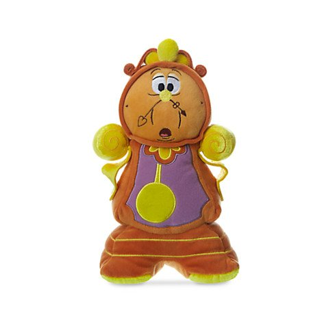 Cogsworth Plush - Beauty and the Beast - Small - 10 1/2''