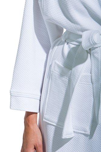 Fishers Finery Women's Resort Spa Bathrobe Kimono Robe Small
