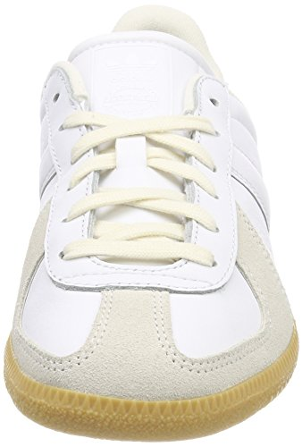 7b9eb7cc57f501 adidas Unisex-Erwachsene BW Army Gymnastikschuhe Elfenbein (Ftwr White ftwr  White chalkwhite ...