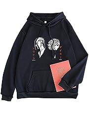 flowereyes Tokyo Avengers Hoodie Klassieke Karakter Print Trui Herfst en Winter Sweatshirt met grote zakken voor Mannen/Woemn/Tieners
