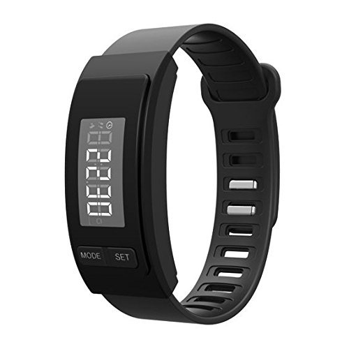 OPTA SB-017 Black Basic Pedometer Band and fitness tracker Launch Offer!!