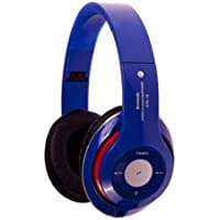 STN16 BLUETOOTH KULAKLIK SD KART DESTEKLİ MP3-FM KULAKLIK/MAVİ RENK