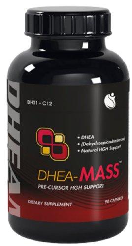 DHEA DHEA-Mass 90 Capsules 100mg 1 Bouteille