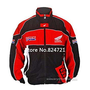 BloomGreen Co. A34, L: F1 Racing Suit Jacket Chaqueta Motorcycle Jacket Cotton Embroidered Long-Sleeved Jackets European Size: M-XXL