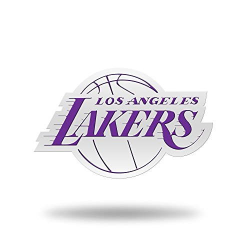 Rico Industries NBA Los Angeles Lakers Team Color Auto Emblem 3D Sticker