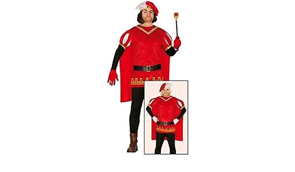 Disfraz de Príncipe rojo: Amazon.es: Juguetes y juegos