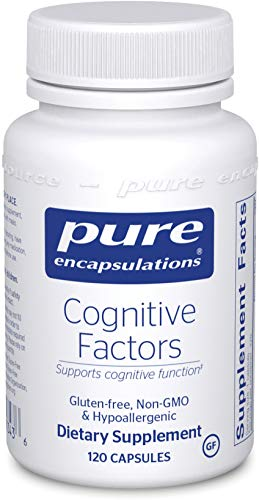 Pure Encapsulations - Cognitive Factors - Hypoallergenic Supplement for Cognitive Function Support* - 120 Capsules