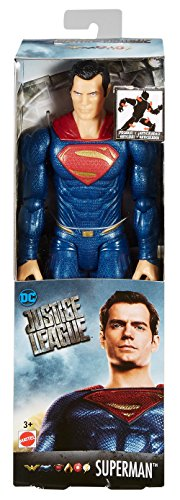 Mattel DC Justice League True-Moves Series Superman Figure, 12""