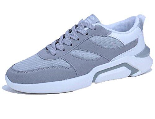 ミシン借りている飼い慣らす[カナクレール] スニーカー メンズ ローカット ランニングシューズ カジュアル 運動靴 3色展開(黒 グレー 白黒)