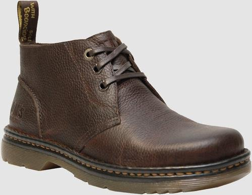Dr. Martens Mens Sussex Leather Closed Toe Ankle Fashion Boots, Brown, Size 9.0]()