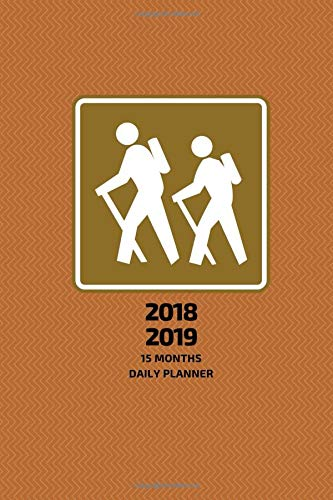 new used books 2018 2019 15 months daily planner small mini