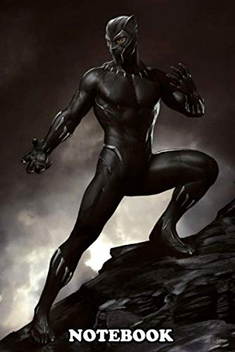 Notebook: Black Panther , Journal for Writing, College Ruled Size 6