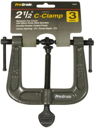 Pro Grade 59163 way C Clamp 2 Inch