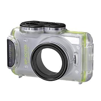Canon WP-DC330L - Carcasa subacuática para cámara Canon IXUS 125 HS, Transparente