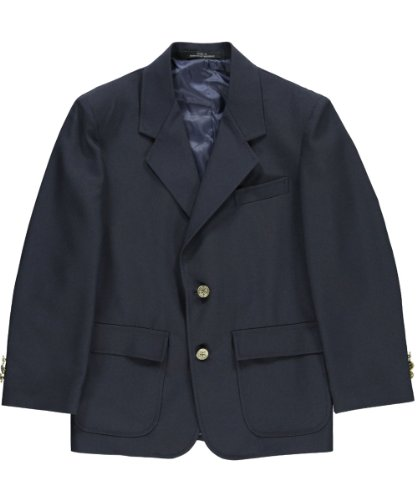 Rifle Husky Single-Breasted Unisex School Blazer - navy, 10h by Rifle
