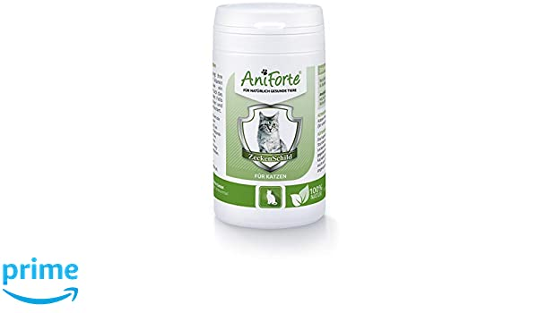 Pastillas AntiGarrapatas para Gatos (60 cápsulas) | Producto 100% Natural para Gatos | Complejo de Vitamina B que actúa como Escudo Anti Garrapatas: ...