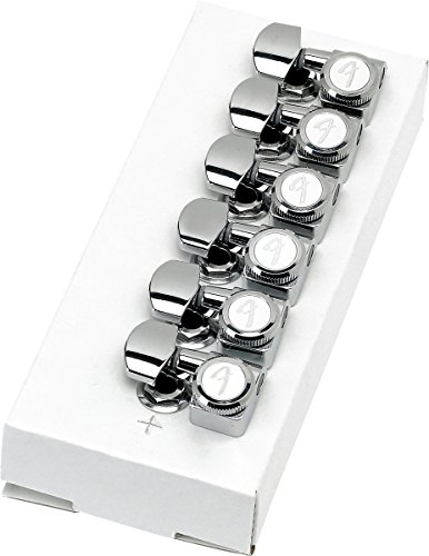 Fender Locking Tuners - Left Handed - Polished Chrome