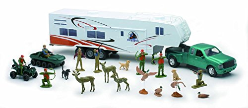 Fifth Wheel w/ Camper Hunting Set - Diecast Truck