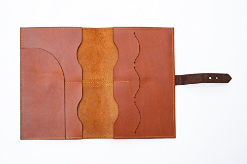 Handmade Curious Family Passport Holder - Leather Travel Multiple Passports Wallet by Handmade Curious (Image #1)