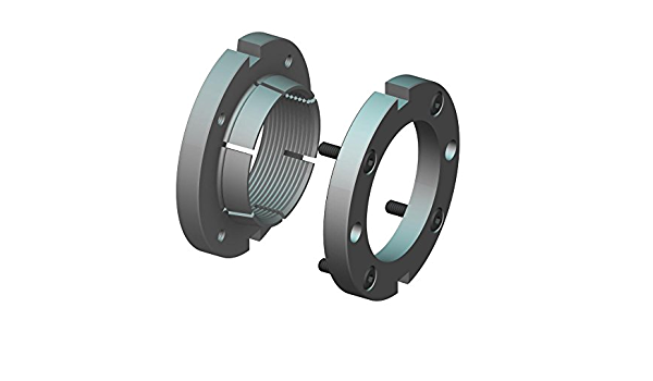 Replaces Standard PRL-09, UNS 1.767-18 Left-Hand Thread Whittet-Higgins NL-09 Threaded Shaft /& Bearing Locknut Not Self-Locking