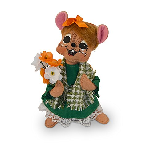 Annalee - 6in St. Patrick's Girl Mouse