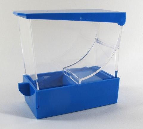 BLUE Professional Dental Cotton Roll Dispenser Holder Organizer Deluxe with pull-out tray by EHROS