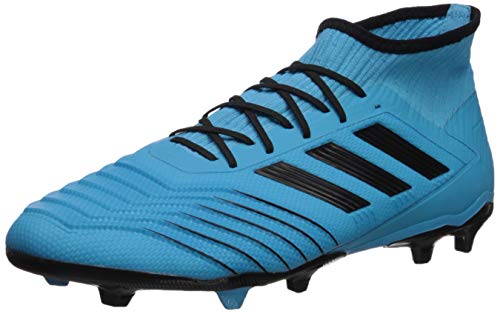 adidas Men's Predator 19.2 Firm Ground Soccer Shoe, Bright Cyan/Black/Solar Yellow, 13 M US (The Best Soccer Shoes Ever)