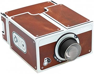 Yorkshire Portable DIY Cardboard Smart Phone Projector Smartphone Cinema in A Box Fits All Phones.