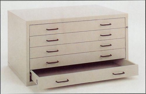BUDGET HORIZONTAL PLANCHEST A1 4 DRAWER by JRB