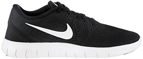 Nike Heren Gratis Rn Loopschoen Zwart / Antraciet / Wit (10,5, Zwart / Wit)