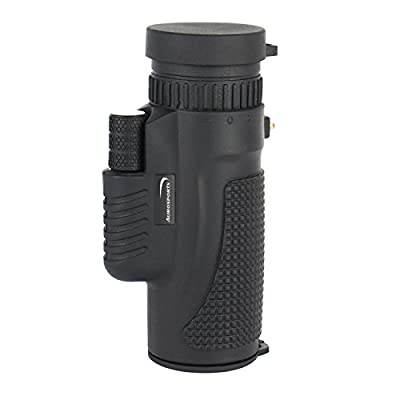 Aurosports 8x42 High-powered Wide-angle Waterproof Monoculars with Hand Strap
