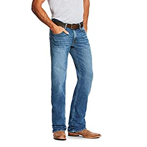 Men's Relaxed Fitted Bootcut Jeans