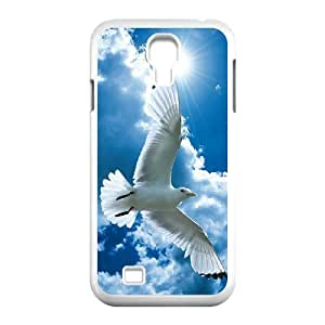 White Dove Original New Print DIY Phone Case for SamSung Galaxy S4 I9500,personalized case cover ygtg583968