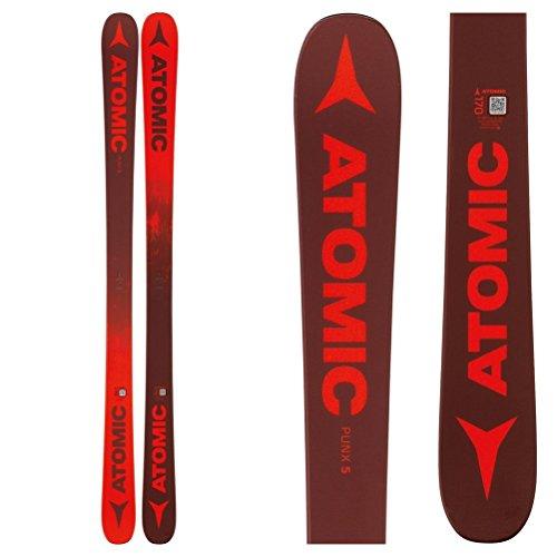 Atomic Punx Five Skit (Dark Red/Red, 150cm)