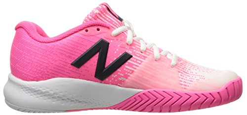 Pink Shoe New Balance White Wc996ws Women's Tennis Alpha nxgqZgHaW