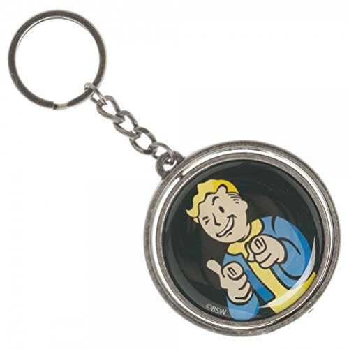 Fallout Vault Spinner Double Keychain product image