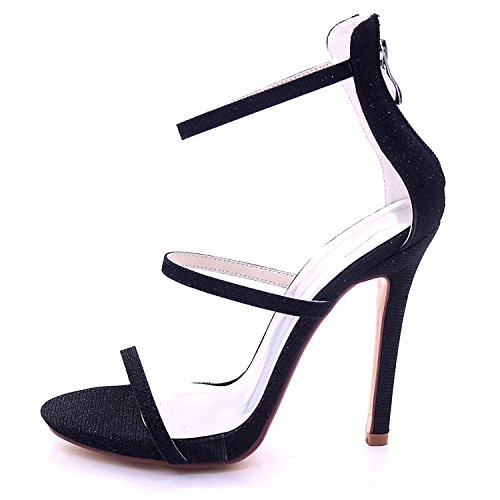 YC Party Wedding Chaussures Hauts Talons Toe L 7216 Party 05C Peep Silver Court Bridal à Femmes Swg6wqRzxd
