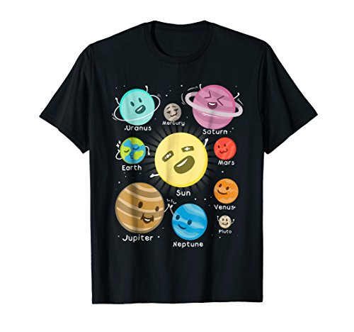 Solar System Funny Outer Space Planet Party T Shirt