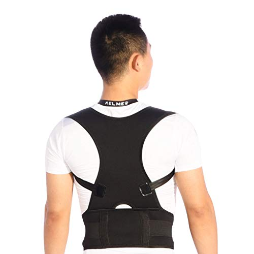 Back Support Belt The Shoulder-Back Posture Supports The Breathable Correction Belt, Which is Suitable for Men and Women to Prevent Hunchback Pain Relief Suitable for Hunchback Sitting Posture